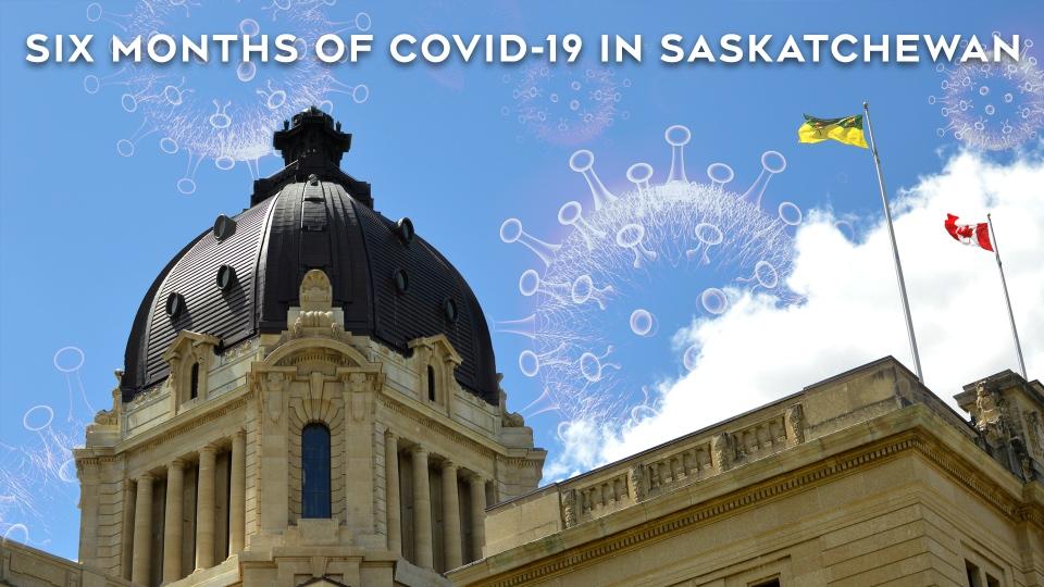 Saskatchewan COVID-19 6 Months