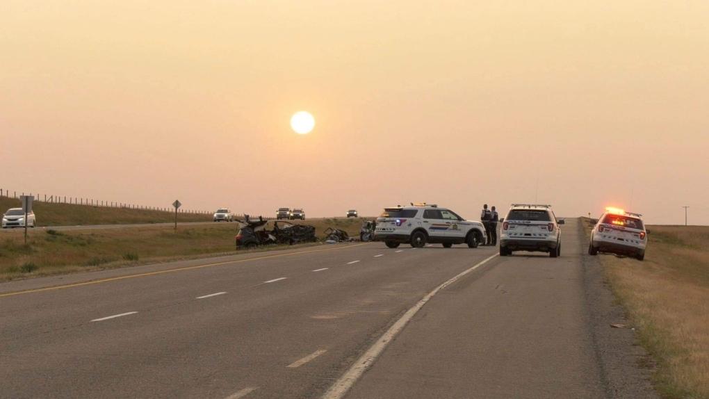 Southern Alberta crash