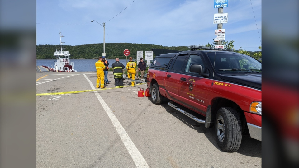 According to Hampton Fire & Rescue, a vehicle did drive off the end of the ferry around 2 a.m. They were unable to confirm how many occupants were in the vehicle.