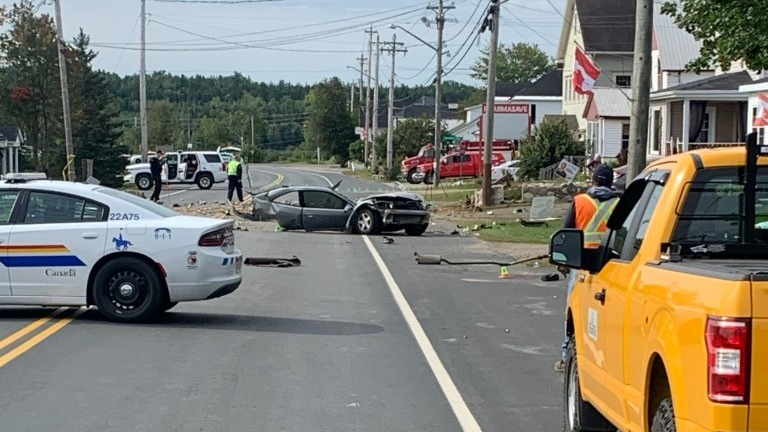 Blackville crash
