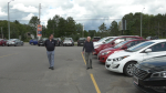 The surge in car sales in Sault Ste. Marie is leading to a shortage of vehicles on the local lot. Some dealers are running low on 2020 models, months ahead of expectations. Sept.13/20 (Jairus Patterson/CTV News Northern Ontario)