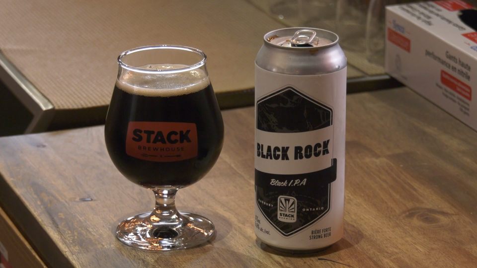 Stack Brewery's Black Rock IPA