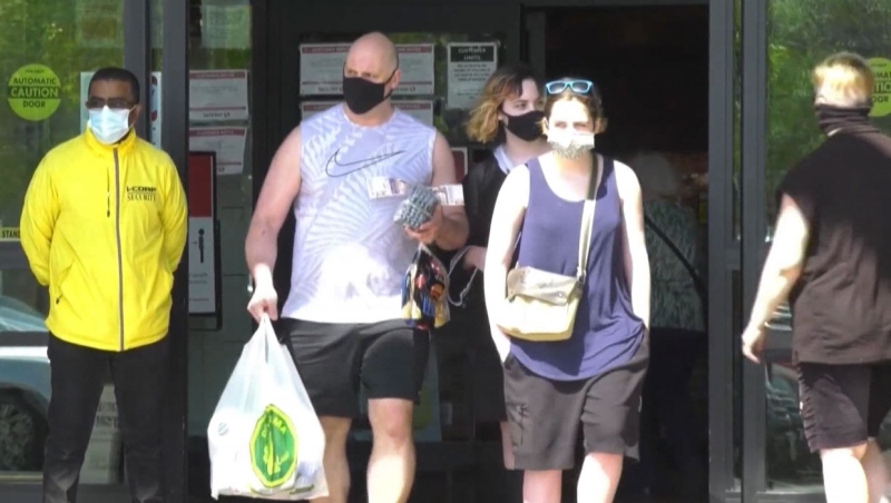 Calgary city officials say 301 tickets for not wearing masks and violations of Alberta's Public Health Act have been issued since last summer. (File)