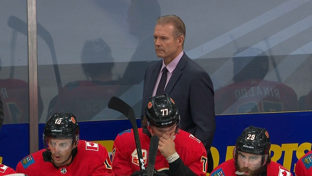 Interim No Longer Flames Officially Name Geoff Ward As Head Coach Ctv News