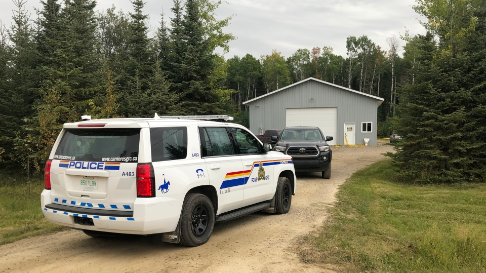 RCMP is investigating after two deaths in the Candle Lake area.