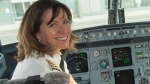 Captain Denise Walters flies a Boeing 777 with Air Canada. (CTV News)