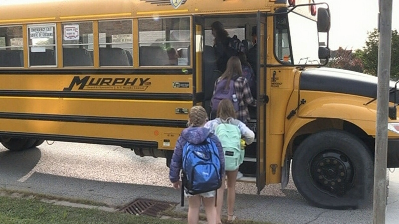 Anxious day as many TVDSB students back in class