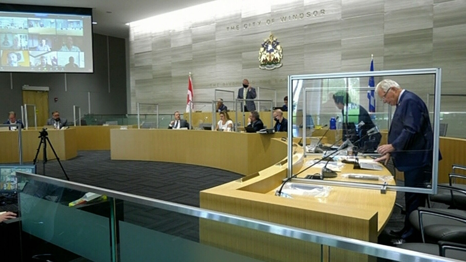 Windsor council back in session