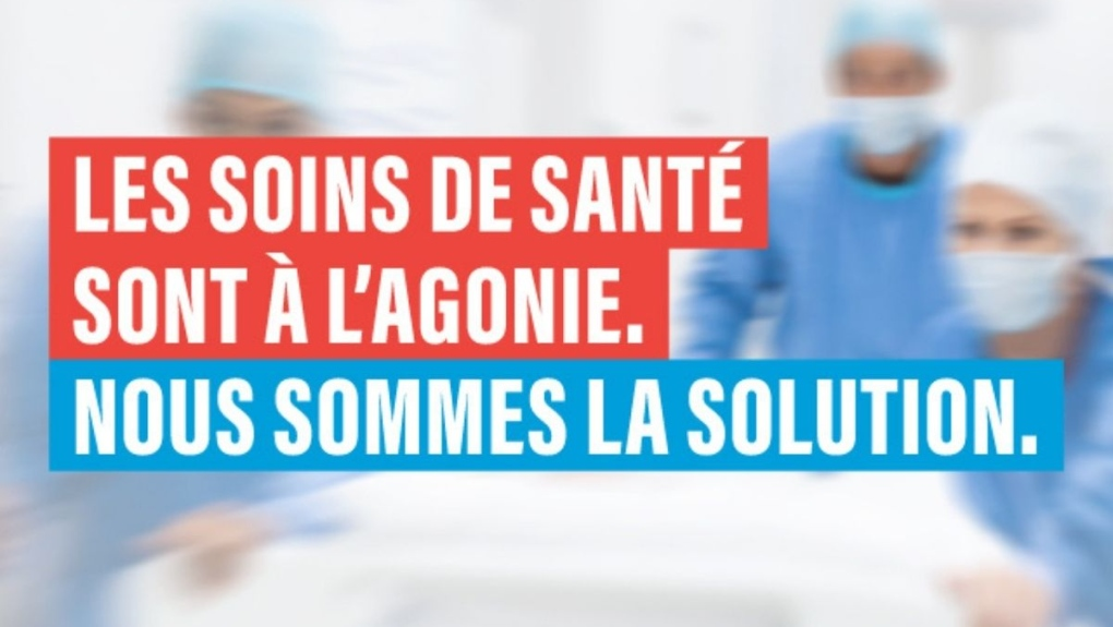 Nurses campaign aimed at shocking Quebec