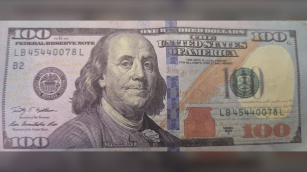 counterfeit $100 US bills