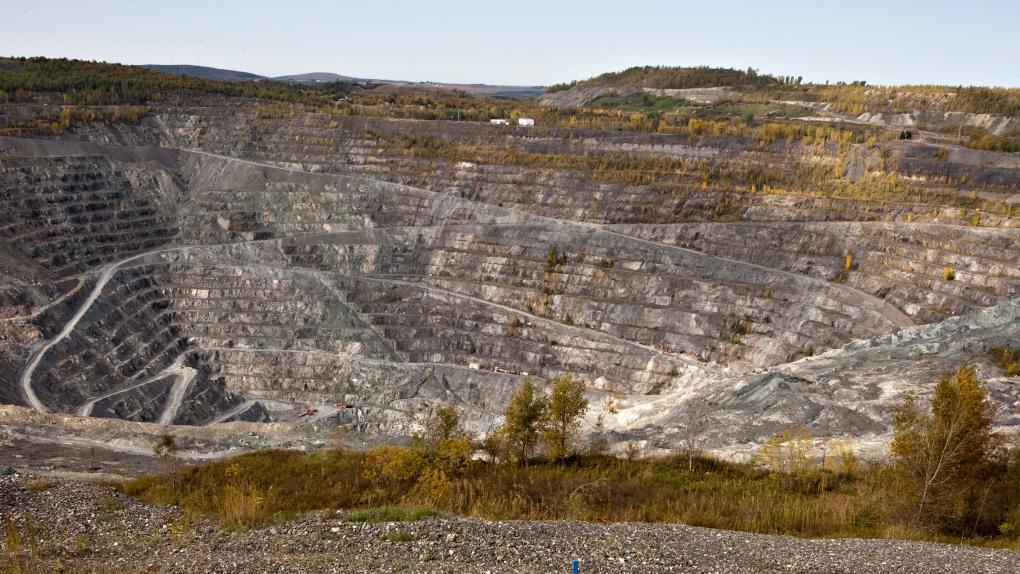 The Jeffrey asbestos mine Friday, October 7, 2011