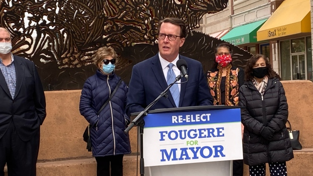 A file photo of Mayoral candidate Michael Fougere. (CTV News)