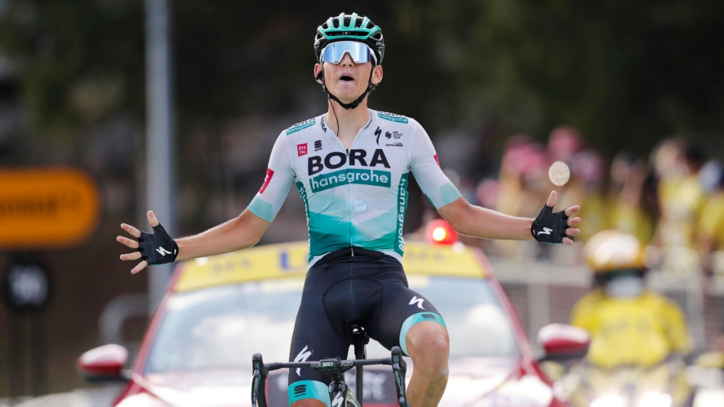Lennard Kamna wins stage 16