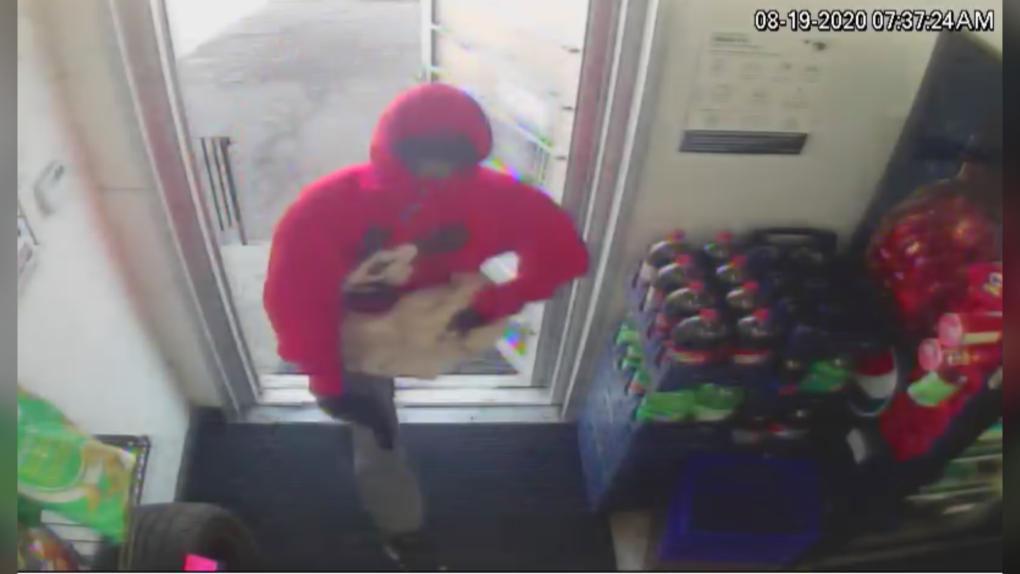 Moncton robbery suspect