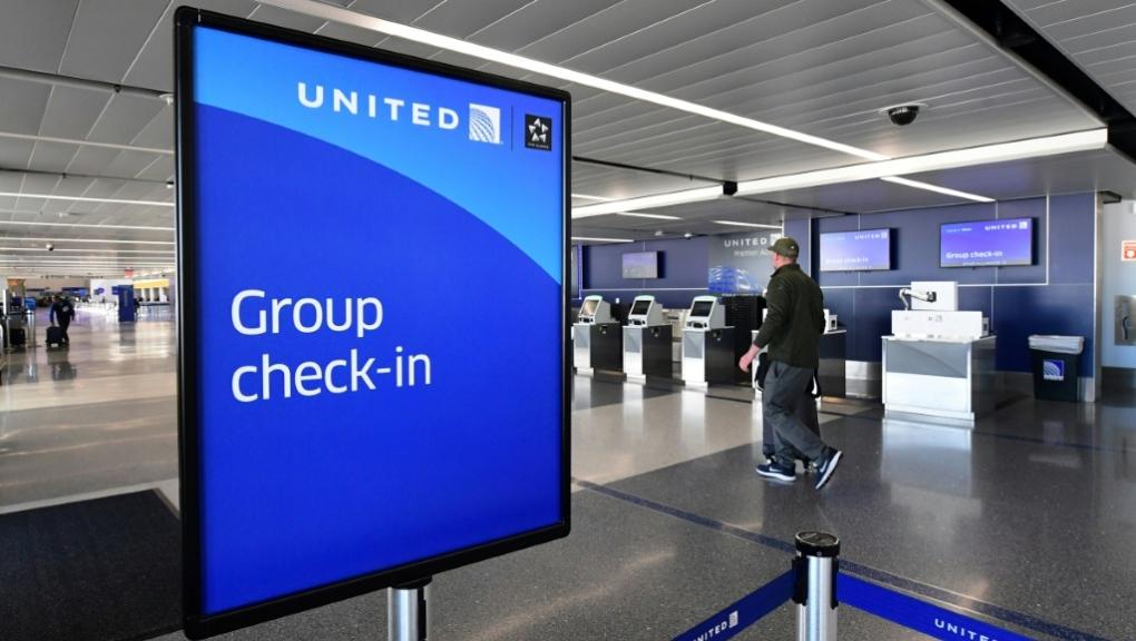 United airport terminal
