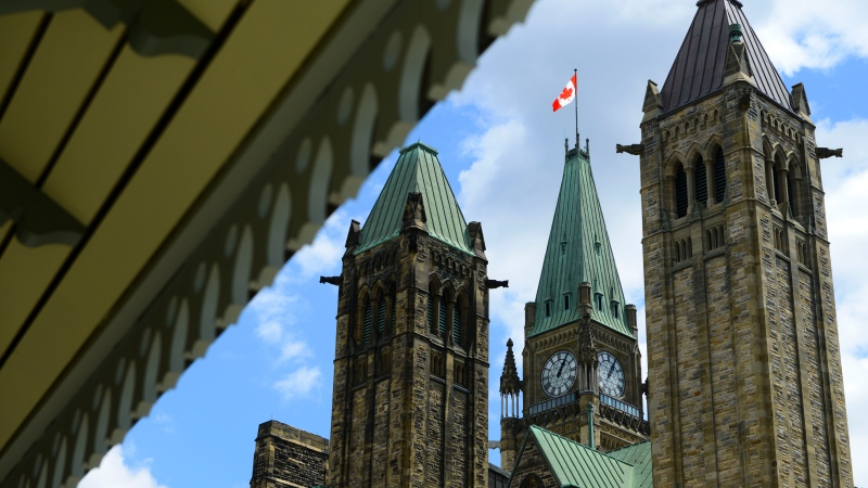 Parliament Hill in Ottawa on Tuesday, July 21, 2020. MP's returned to the House of Commons for a second day in a row to deal with another round of COVID-19 measures. THE CANADIAN PRESS/Sean Kilpatrick