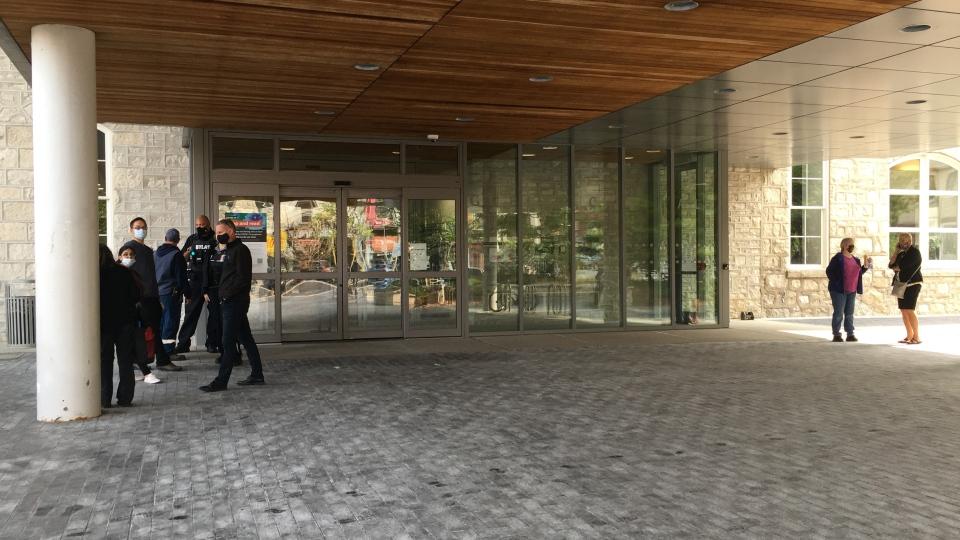 Guelph city hall on lockdown