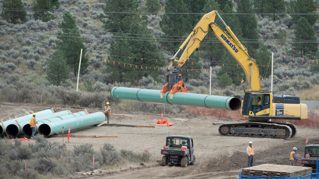 Trans Mountain pipeline 2020