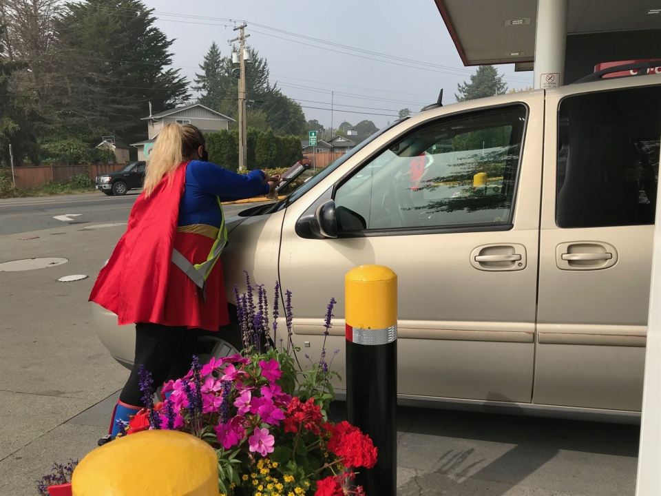 Five cents from every litre of fuel purchased at a Peninsula Co-op today will go towards the Help Fill a Dream Foundation to benefit local children.