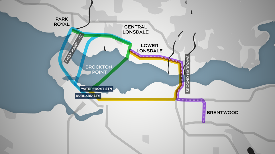 Rapid transit to North Vancouver