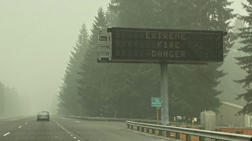 Oregon Wildfires Air Quality