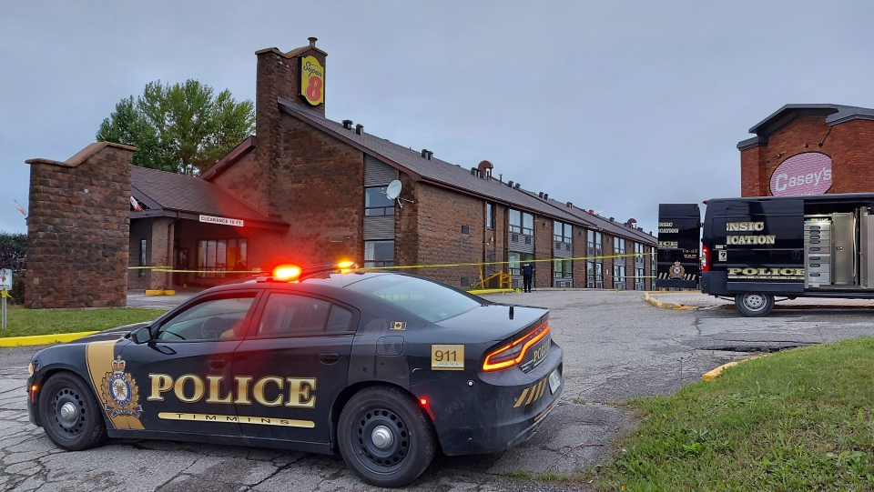 Timmins police investigate assault at local motel