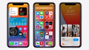 The new iOS 14 update can give your current model a refresh -- for free. The next version of the iPhone operating system rolls out to iPhone 6s models and later starting Wednesday. (Apple)