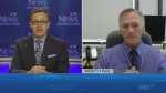 Tony Ryma talks to Dr. Jim Chirico of North Bay Parry Sound District Health Unit. Sept. 15/20 (CTV Northern Ontario)