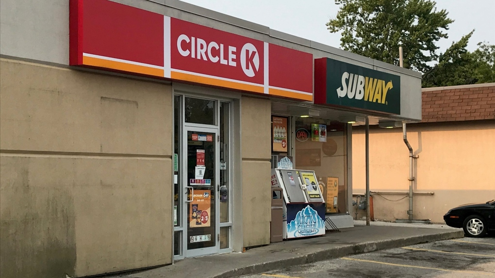 Circle K in Petrolia, Ont.
