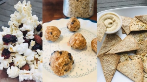 after school snacks with whole grains