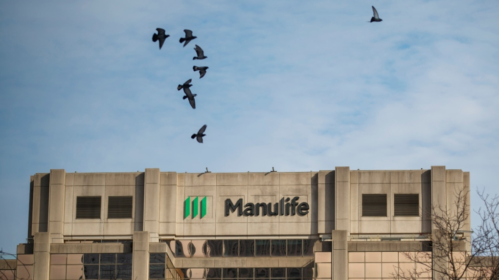 Manulife Financial Corp.'s office tower in Toronto
