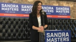 Sandra Masters announced her intention to run for Mayor of Regina in the upcoming municipal election. Wednesday Sept. 16, 2020. (Stefanie Davis / CTV News Regina)
