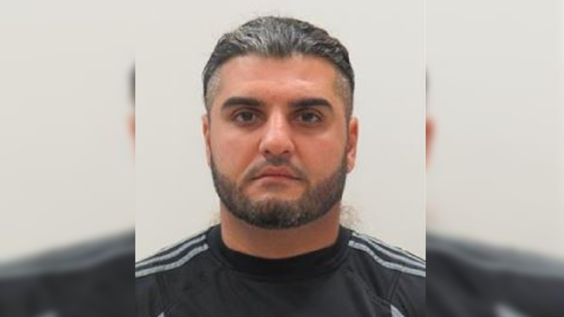 Hayan Yassin, 34, has been released from custody and will reside in Kitchener. Officials believe he is at high-risk to offend. (@WRPSToday / Twitter)