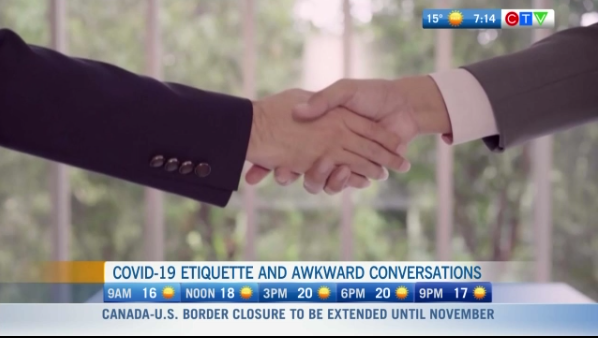 Etiquette and covid-19