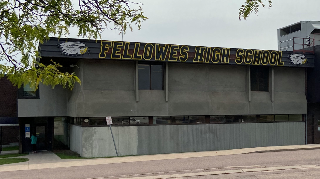 Fellowes High School in Pembroke, Ont.