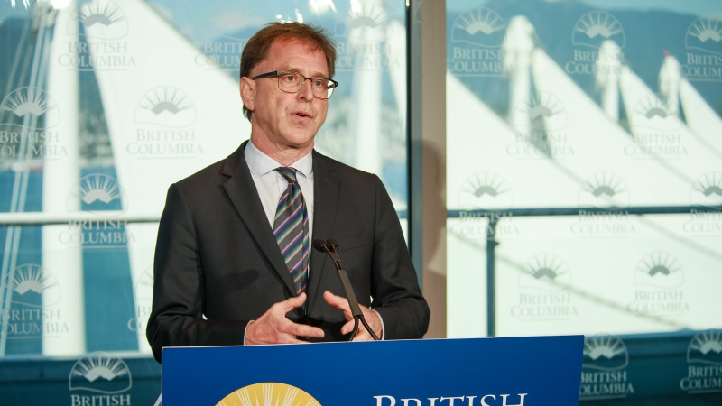 B.C. Minister of Health Adrian Dix speaks at a daily COVID-19 update on August 17, 2020: (Province of B.C. / Flickr)