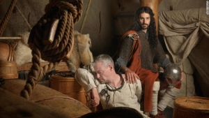 """An artistic reconstruction of """"Southern European"""" Vikings, emphasizing the foreign gene flow into Viking Age Scandinavia. (Jim Lynguild/CNN)"""