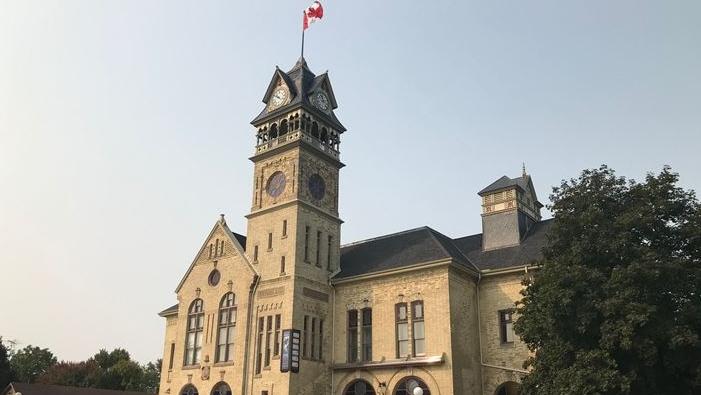 The Victoria Playhouse in Petrolia, Ontario is seen on Wednesday, Sept 16, 2020 (Sean Irvine CTV News)
