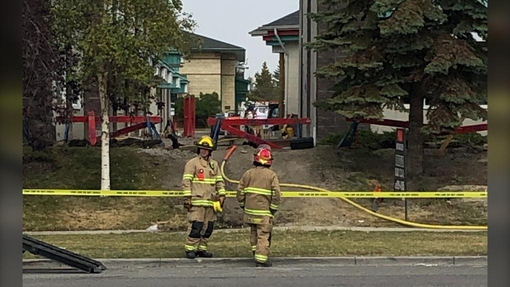 Calgary gas leak
