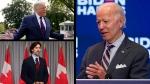 Trump, Trudeau, Biden