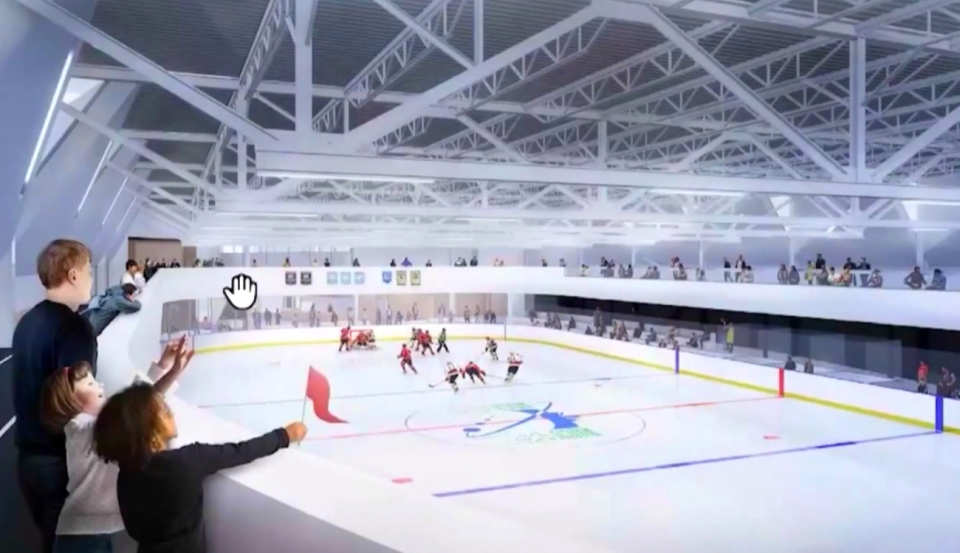 With the province turning North Bay down, there's no financial help to build a proposed community centre and twin pad arena to replace the aging West Ferris Arena. (File)