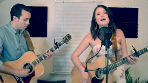 Sabrina and Dave from Matheson cover 'I Hope You Dance,' by Lee Ann Womack.