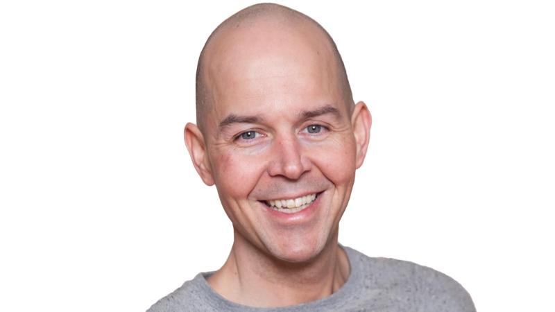 97.5 Virgin Radio personality J Stevens.