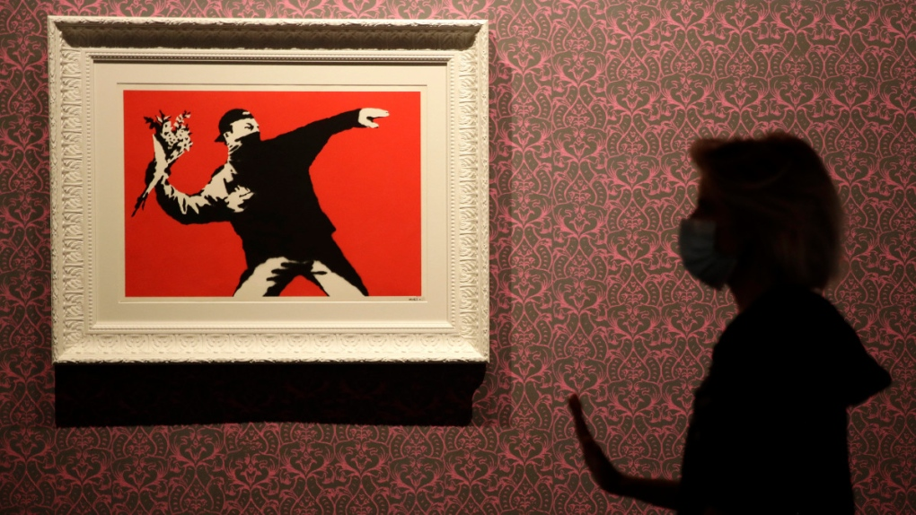 Intellectual property: Banksy loses trademark case over the 'Flower Thrower'
