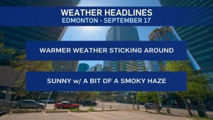 Sept. 17 weather headlines
