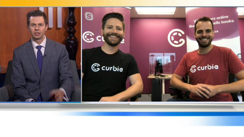 "It's the skip the dishes of car dealerships. We'll talk to the co-founders of ""Curbie Cars"" and how they are making buying a car easier."