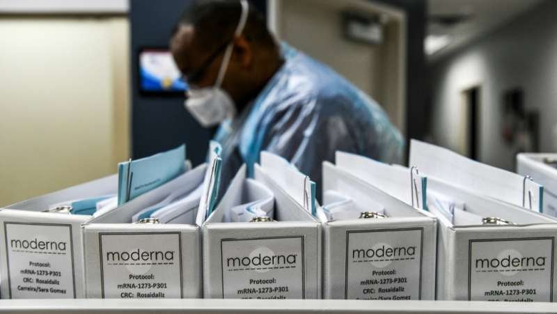 The race for a vaccine has taken a political turn in the run-up to the November 3, 2020 election, with U.S. President Donald Trump regularly promising to have one brought to market by October.  (AFP)