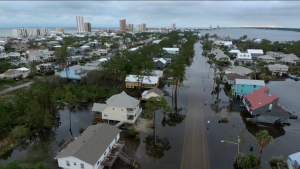 Hurricane Sally caused some serious damage along the Gulf Coast, causing floods, downing trees and sinking boats.