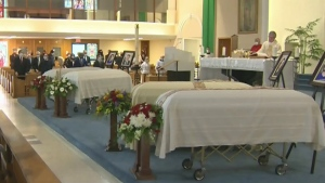 Funeral held for 4 members of Ont. family