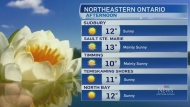 Bright return of sunshine with cool temperatures